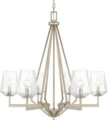 0-025062>Arden 6-Light Chandelier Brushed Silver