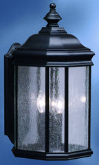 0-011718>21 inchh Kirkwood 3-Light Outdoor Wall Lantern Black