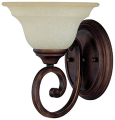 0-009517>Chandler 1-Light Sconce Burnished Bronze