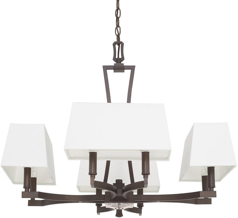 0-025169>Westbrook 8-Light Chandelier Burnished Bronze