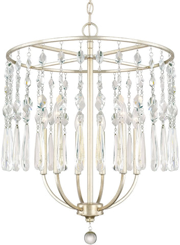 0-026731>Juliette 6-Light Chandelier Winter Gold