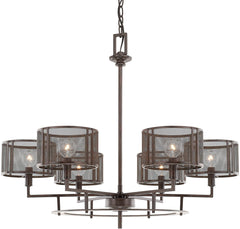 0-023510>Bennett 6-Light Chandelier Russet