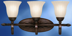 0-001206>24 inchw Willowmore 3-Light Wall Mounted Bath Fixture Tannery Bronze