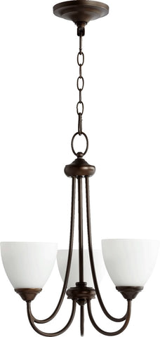 0-022042>Brooks 3-Light Chandelier Oiled Bronze