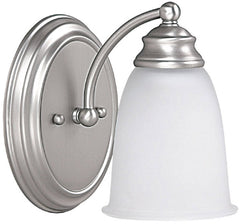 0-014174>Capital Vanities 1-Light Sconce Matte Nickel