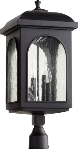 0-000770>Fuller 4-light Outdoor Post Lantern Noir