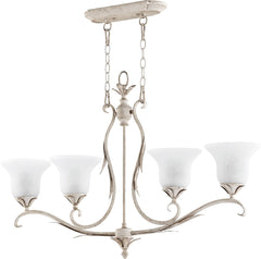 0-002621>Flora 4-Light Island Light Persian White