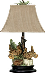 0-021349>25 inchh Nesting Doves 1-Light Table Lamp