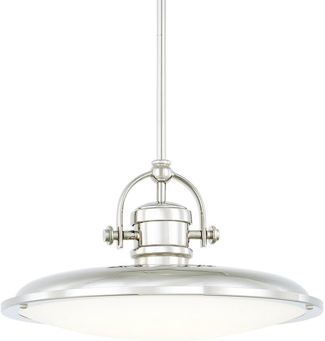 0-019649>Pendants LED Pendant Polished Nickel