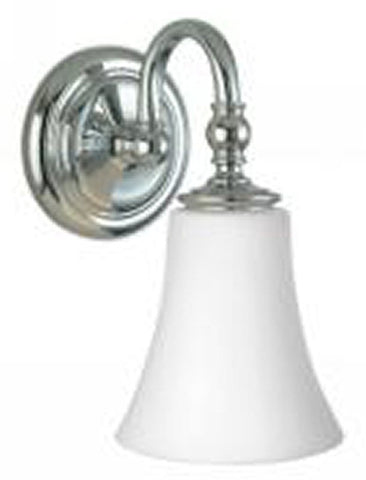 0-011548>Dover Wall Sconce Chrome