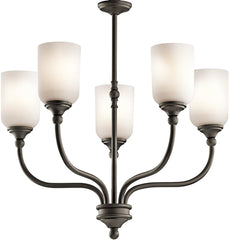 0-025652>Lilah 5-Light Olde Bronze Chandelier