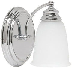 0-014269>Capital Vanities 1-Light Sconce Chrome