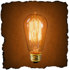 0-105830>Restoration-Style Incandescent Replacement Bulb Clear