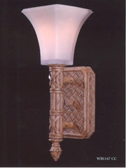 0-009102>OPEN BOX East Winds Wall Sconce Country Cream