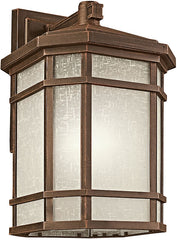0-028094>21 inchh 1-Light Cameron Outdoor Wall Lantern Prairie Rock