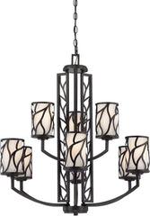 0-029507>30 inchw Modesto 9-Light Chandelier Artisan