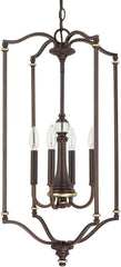 0-021489>Asher 4-Light Foyer Champagne Bronze