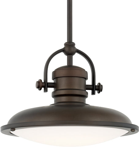 0-018723>Pendants LED Pendant Burnished Bronze