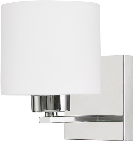 0-004226>Steele 1-Light Sconce Chrome