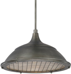 0-018376>Pendants 1-Light Pendant Gunmetal