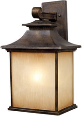 0-011870>19 inchh San Gabriel 1-Light Outdoor Wall Lantern Hazelnut Bronze