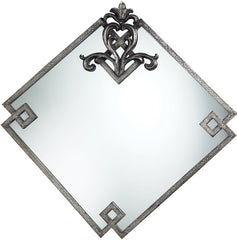 0-005713>36x36 inch Blackston Mirror Antique White
