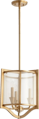 0-002774>Highline 3-Light Pendant Aged Brass