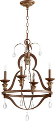 0-024752>Venice 4-Light Chandelier Vintage Copper