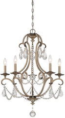 0-034954>Gala 5-Light Chandelier Argent Silver