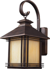 0-013977>19 inchh Blackwell 1-Light Outdoor Wall Lantern Hazelnut Bronze