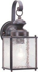 0-029830>Jamestowne 1-Light Outdoor Wall Lantern Textured Rust Patina