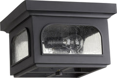 0-005200>Fuller 2-light Outdoor Flush Mount Noir