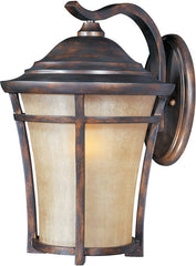 0-006078>OPEN BOX 18 inchh Balboa Vivex 1-Light Outdoor Wall Mount Copper Oxide