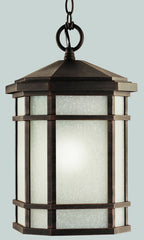 0-011275>10 inchw Cameron 1-Light Outdoor Pendant Prairie Rock