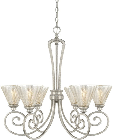 0-025596>Corrigan 6-Light Chandelier Antique Silver