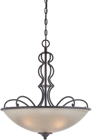 0-014338>Tangier 3-Light Pendant Natural Iron