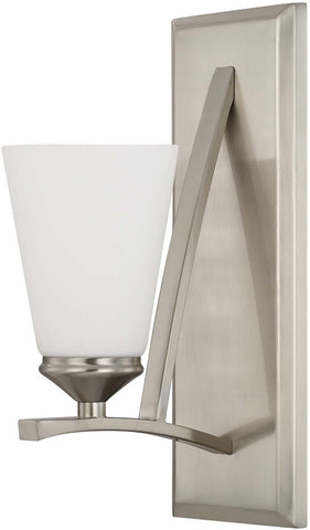 0-018180>Boden 1-Light Sconce Brushed Nickel