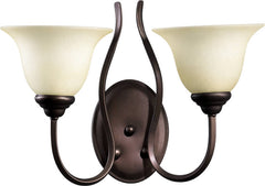 0-033036>17 inchw Spencer 2-Light Wall Sconce Oiled Bronze