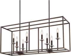 0-000795>Morgan 8-Light Island Burnished Bronze