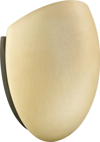 0-026556>1-Light Wall Sconce Oiled Bronze