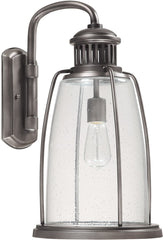 0-021819>19 inchh Harbour 1-Light Outdoor Wall Lantern Graphite