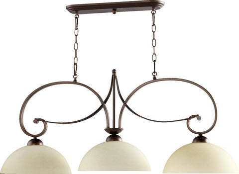 0-002091>Lariat 3-Light Island Light Oiled Bronze