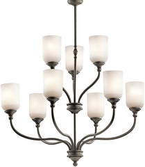0-026204>Lilah 9-Light Olde Bronze Chandelier