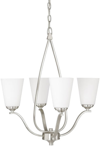 0-000208>Braxton 4-Light Chandelier Brushed Nickel