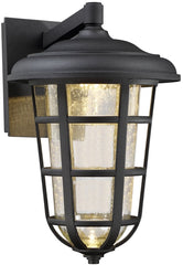 0-017414>Triton -Light Wall Sconce Black