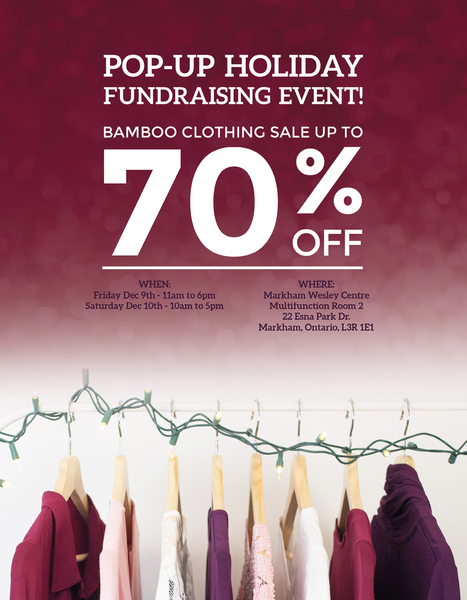 LNBF - Pop Up Holiday Fundraising Event