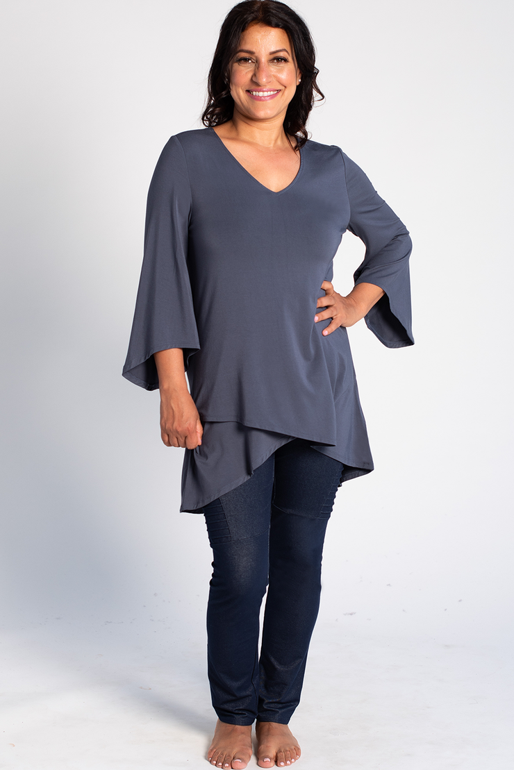 Kinsley Tunic - Anchor Blue