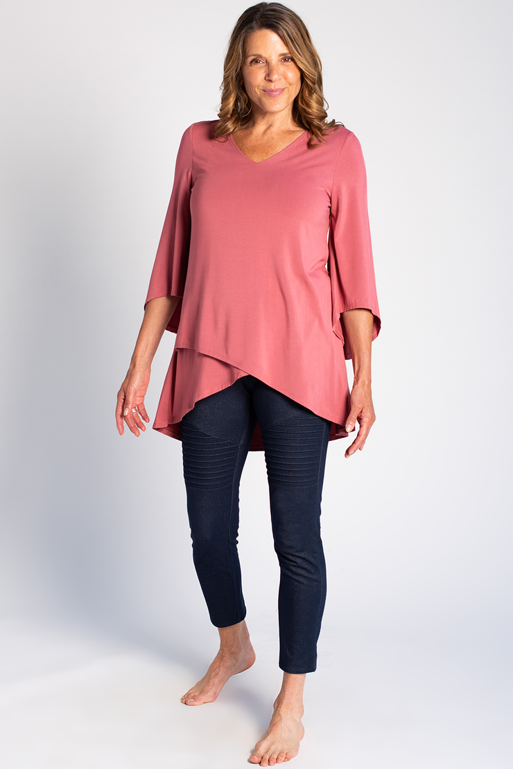 Kinsley Tunic - Deep Rose