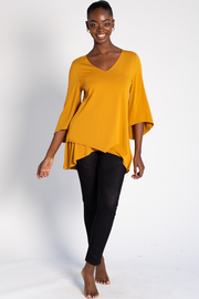 Kinsley Tunic - Harvest Gold