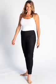 Everly Denim Leggings - Black Denim